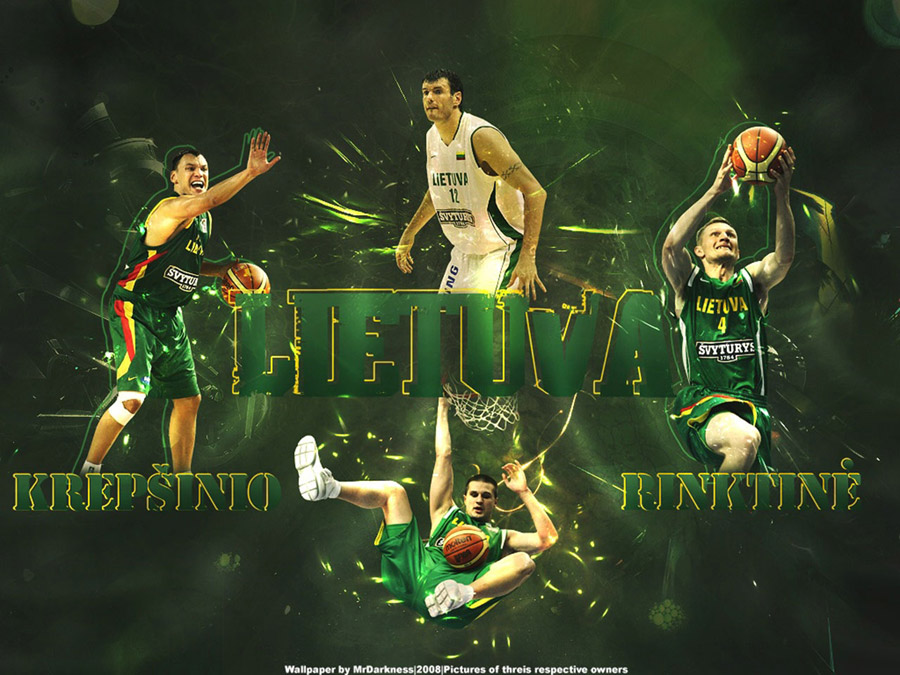 Lithuania National Team 2008 Wallpaper