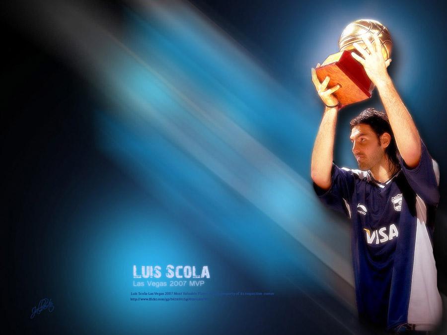 Luis Scola 2007 FIBA Americas MVP Wallpaper