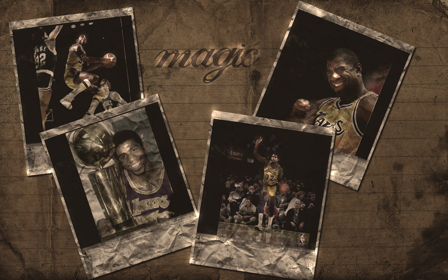 Magic Johnson Widescreen Wallpaper