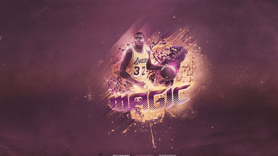 Magic Johnson Lakers 1920x1080 Widescreen Wallpaper