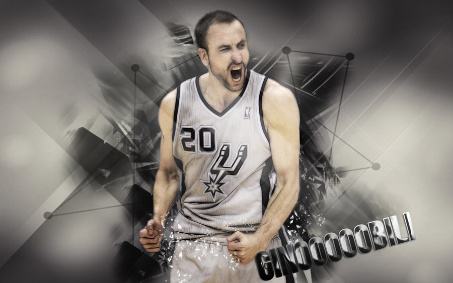 Manu Ginobili 2013 Playoffs 2560x1600 Wallpaper