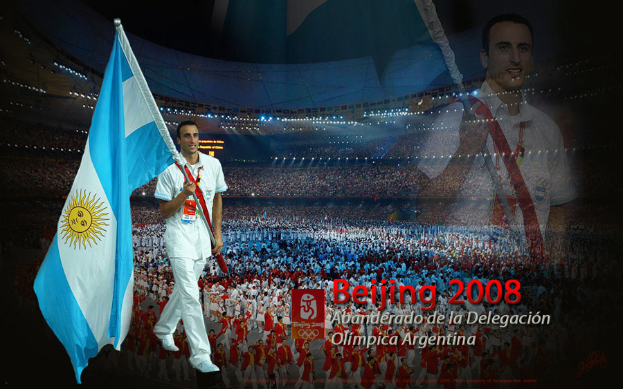 Emanuel Ginobili Olympics 2008 Widescreen Wallpaper