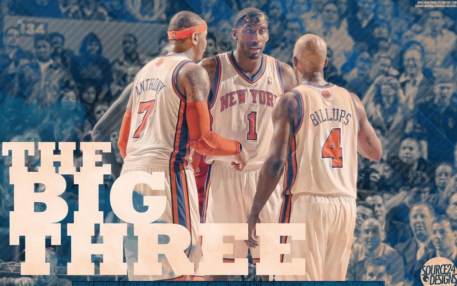Melo Stat Billups Knicks Widescreen Wallpaper