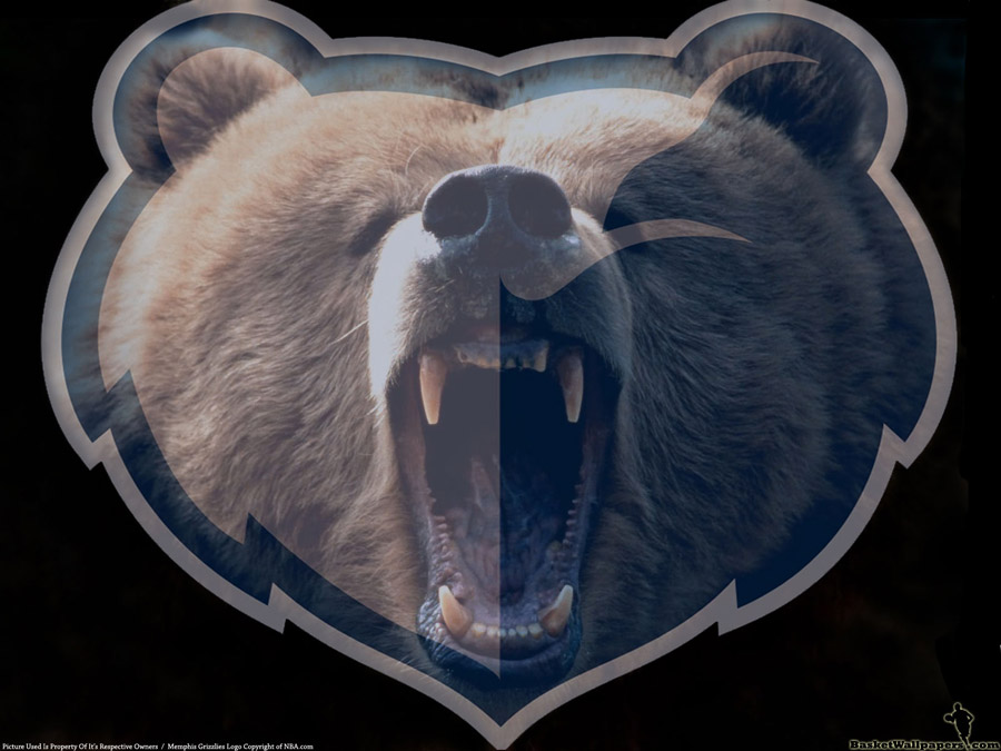 Memphis Grizzlies Animal Logo Wallpaper