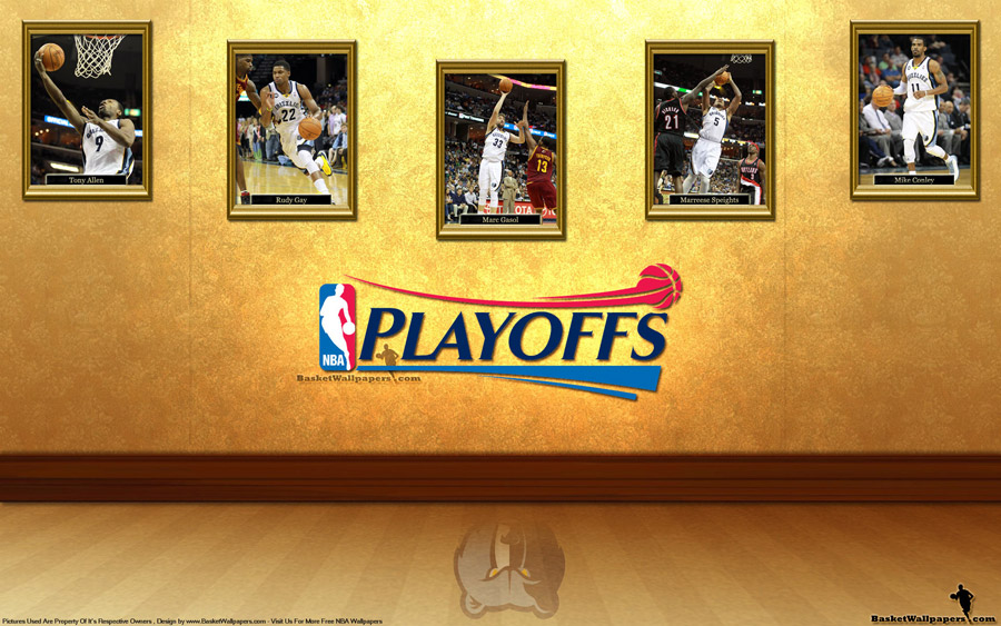 Memphis Grizzlies See You In Playoffs 2012 Wallpaper