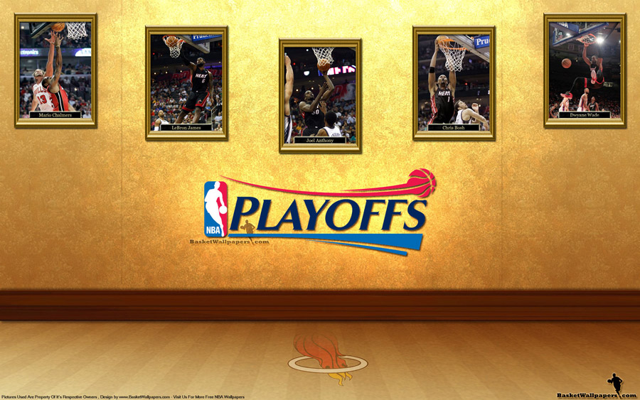 Miami Heat See You In Playoffs 2012 Wallpaper