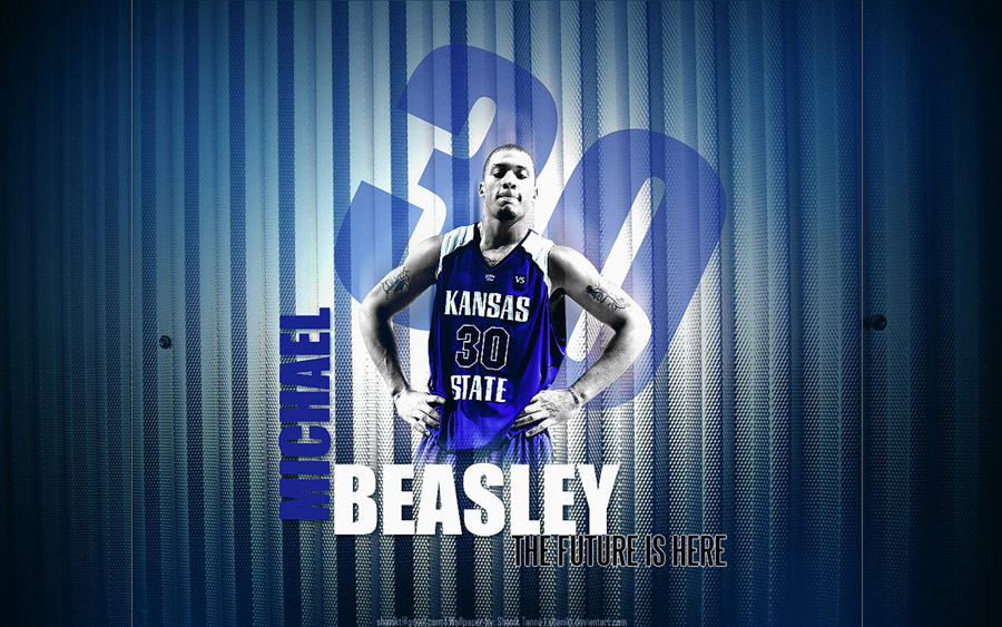 Michael Beasley Kansas State Widescreen Wallpaper