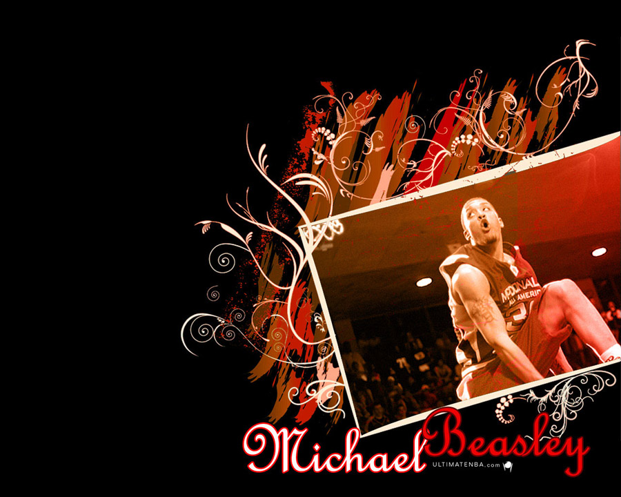 Michael Beasley Slam Dunk Wallpaper