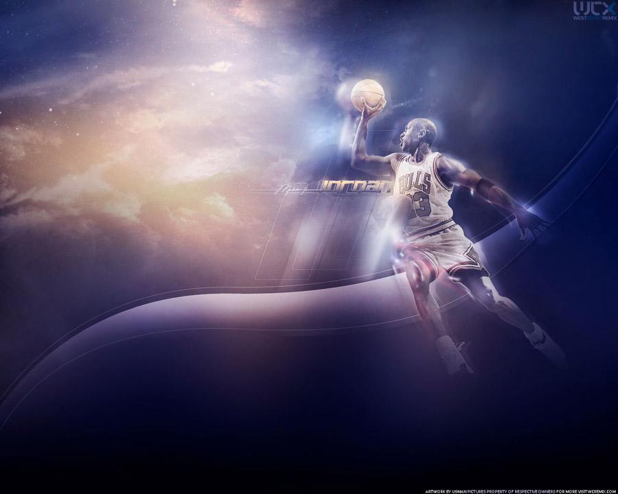Michael Jordan Sky Dunk Wallpaper