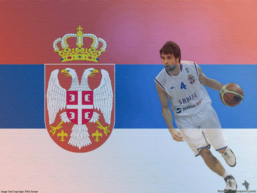 Milos Teodosic Serbia Team Wallpaper