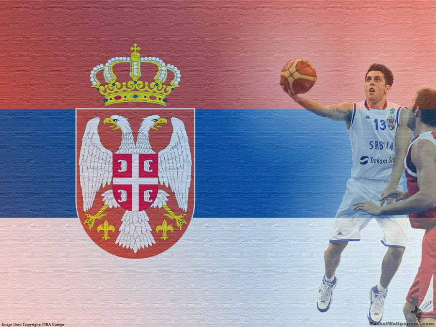 Milos Vujanic Serbia Team Wallpaper
