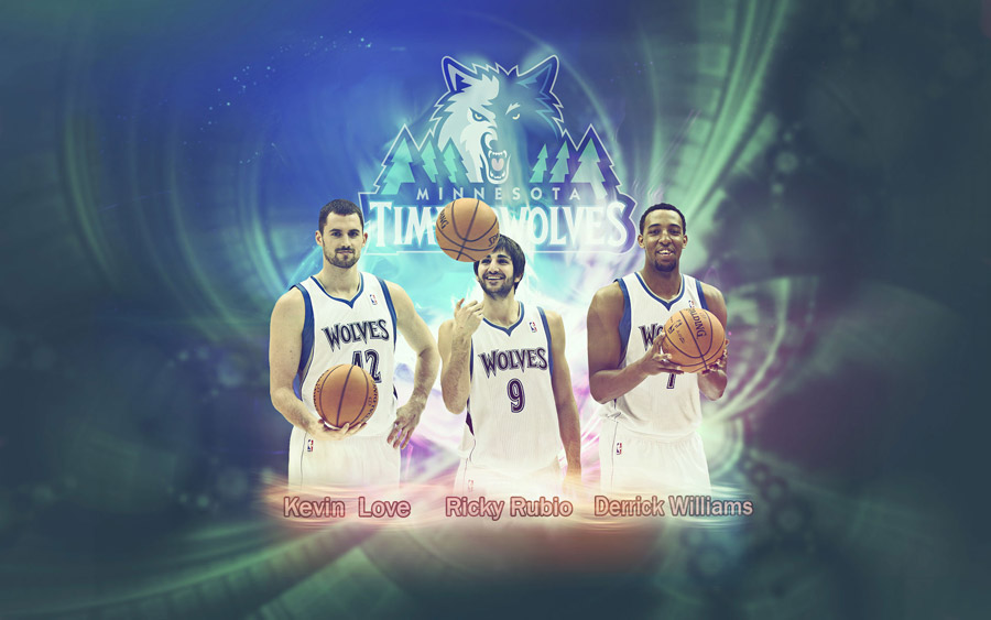 Minnesota Timberwolves 2012 1920x1200 Wallpaper