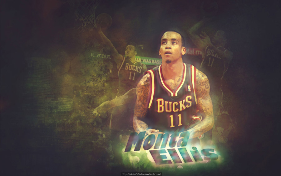 Monta Ellis Bucks 1920x1200 Wallpaper