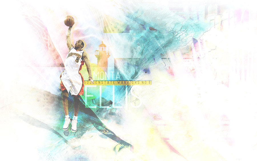Monta Ellis Dunk Widescreen Wallpaper