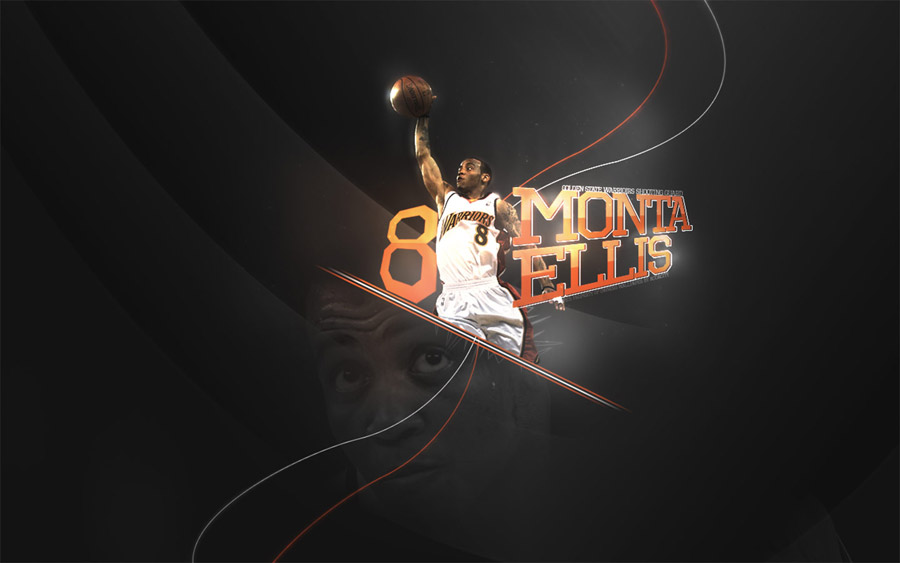 Monta Ellis Warriors Widescreen Wallpaper