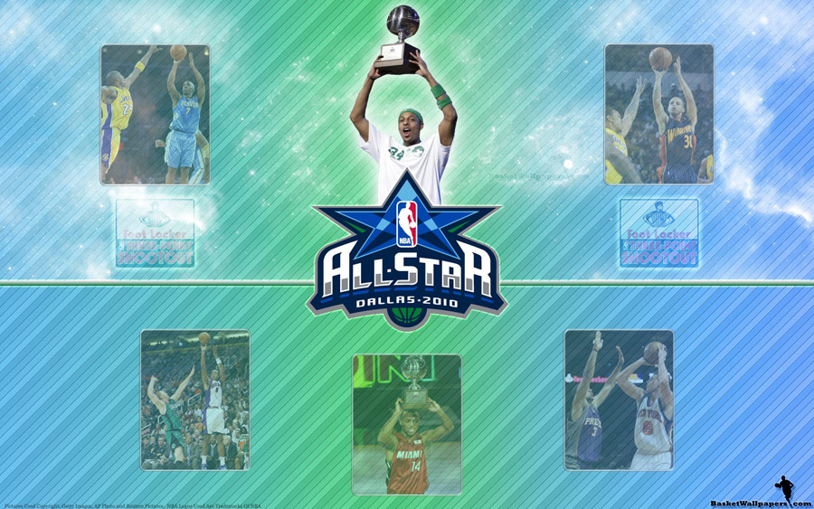 NBA All-Star 2010 3pt Shootout Wallpaper