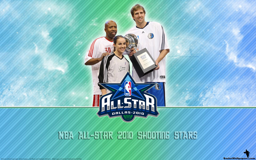 NBA All-Star 2010 Shooting Stars Wallpaper