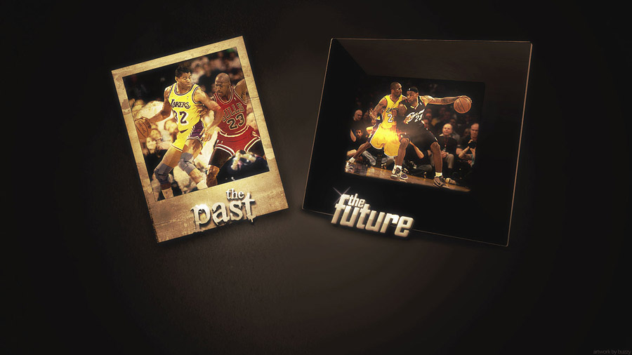 NBA Past & Future Wallpaper - Magic vs MJ and Kobe vs LeBron