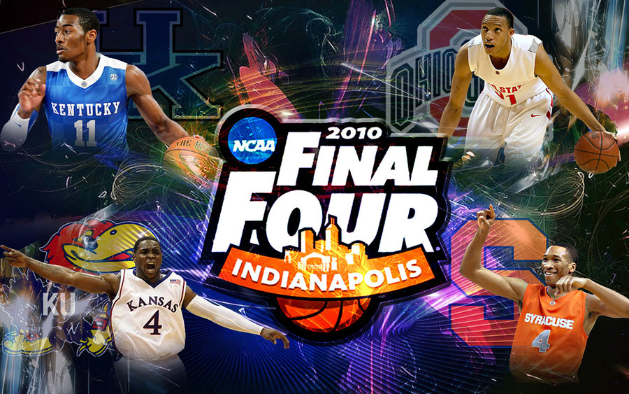 NCAA Final Four 2010 Widescreen Wallpaper