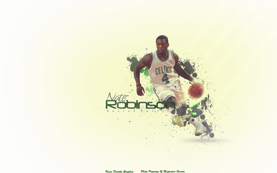 Nate Robinson Celtics 1680x1050 Wallpaper