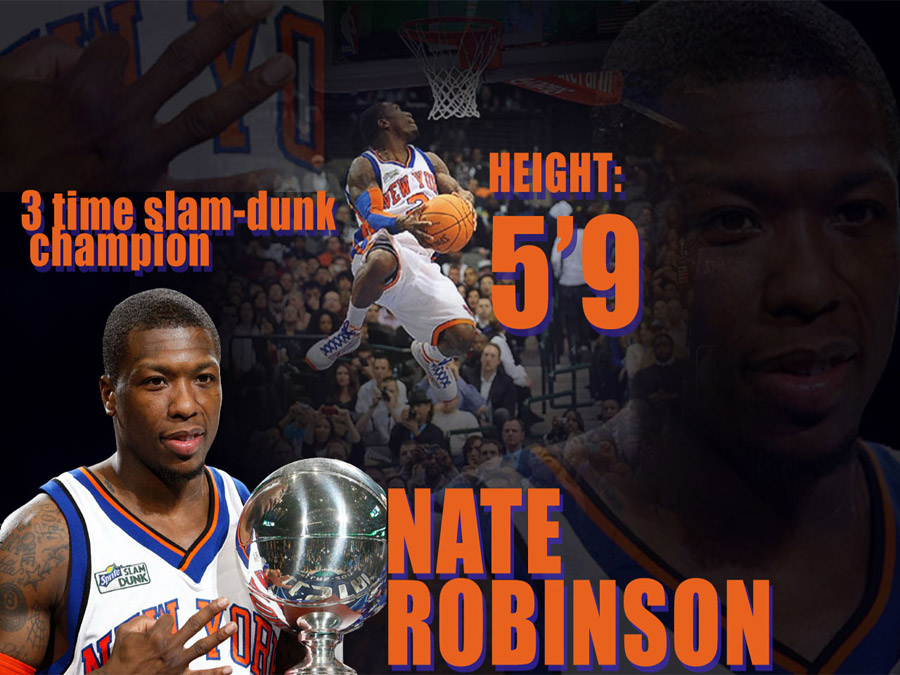 Nate Robinson 3-Time Slam Dunk Champ Wallpaper