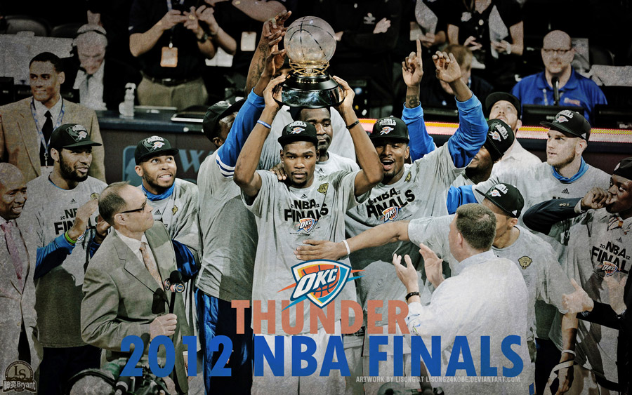 OKC Thunder 2012 NBA West Champions 2560x1600 Wallpaper