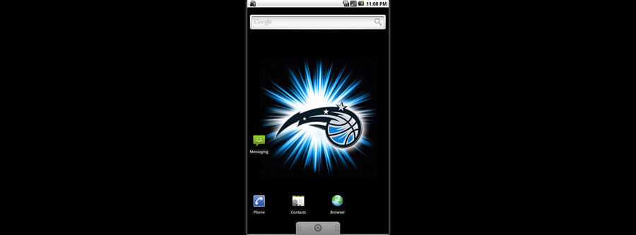 Orlando Magic Logo Live Android Wallpaper