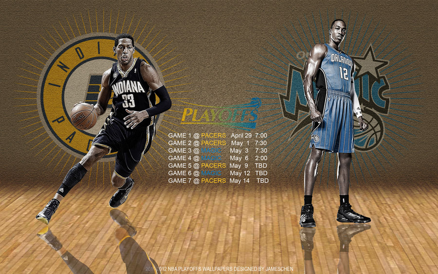 Pacers - Magic 2012 NBA Playoffs 2560x1600 Wallpaper