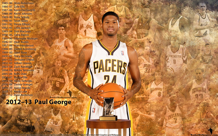 Paul George 2013 Most Improved Player Of The Year 1920x1200 Wallpaper