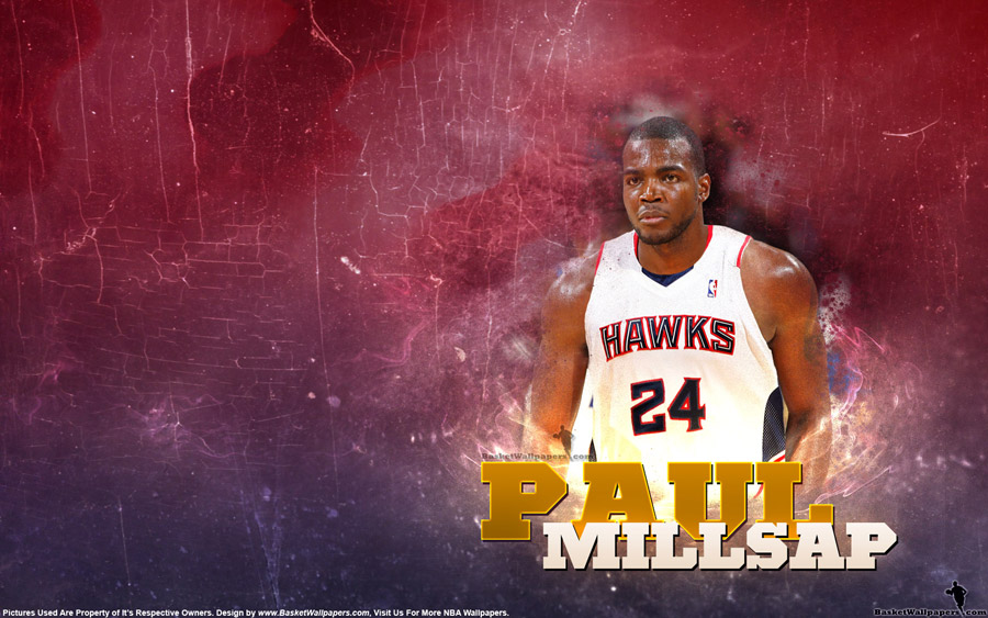 Paul Millsap 2013 Atlanta Hawks 1680x1050 Wallpaper