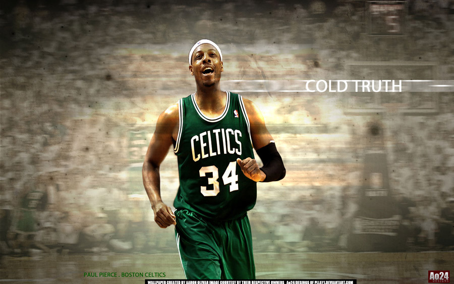 Paul Pierce 2012 East Finals Game 5 1920x1200 Wallpaper
