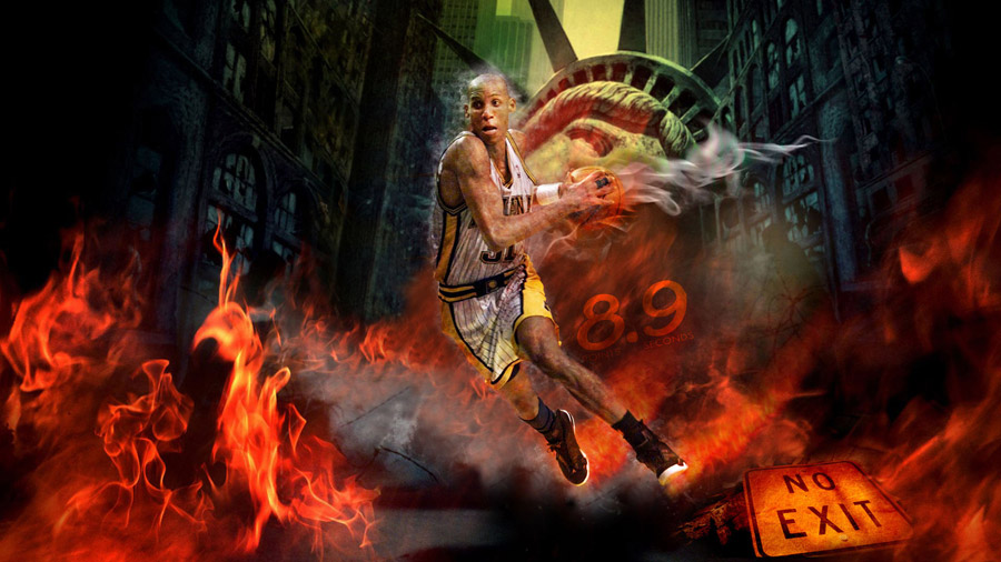 Reggie Miller 1920x1080 Wide Wallpaper