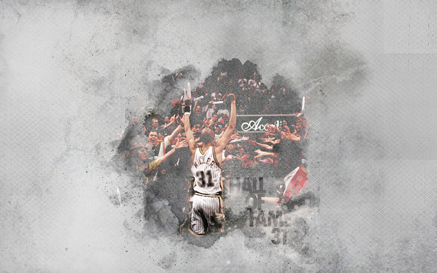 Reggie Miller Hall Of Fame Wallpaper