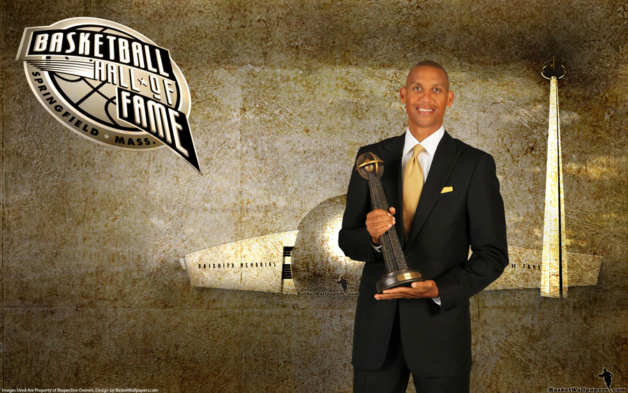 Reggie Miller Hall of Fame 2012 Wallpaper