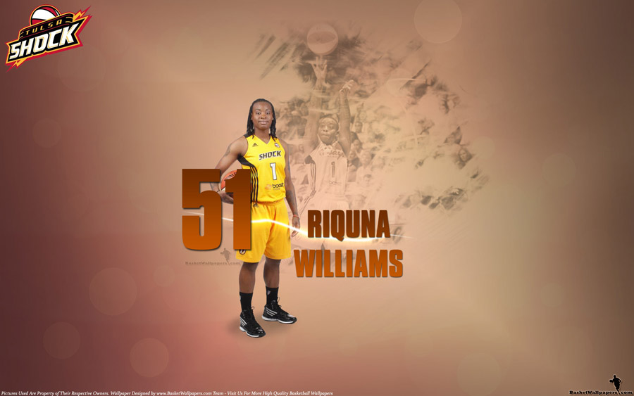 Riquna Williams Tulsa Shock 51 Points Wallpaper