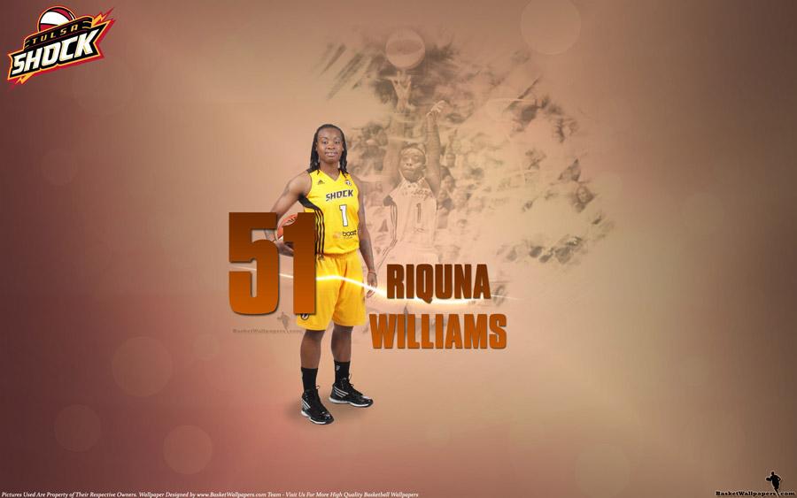 Riquna Williams Tulsa Shock 51 Points Wallpaper