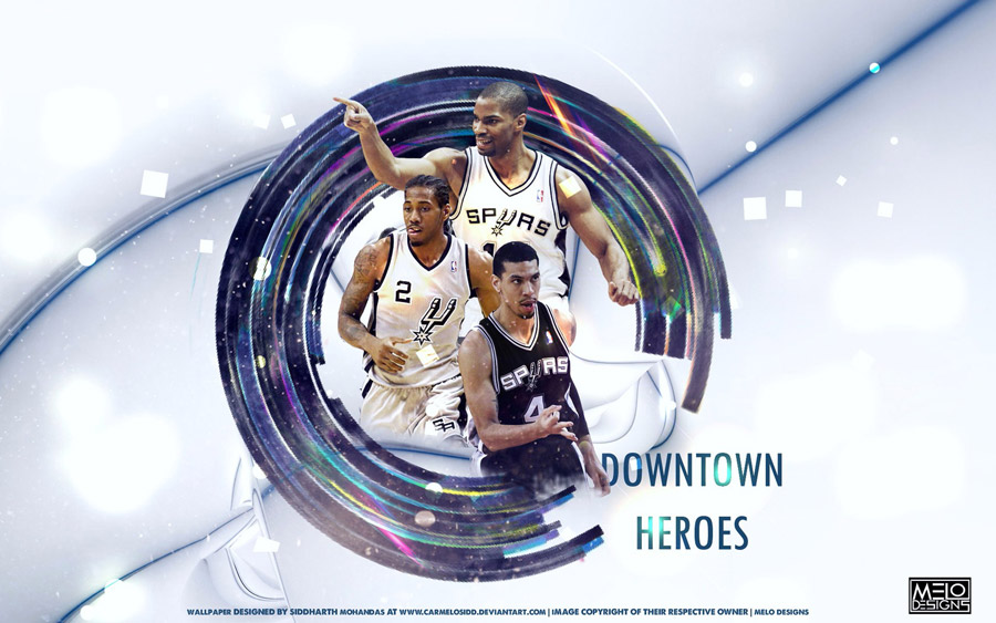 San Antonio Spurs 2013 Downtown Heroes 1680x1050 Wallpaper