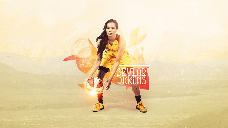 Skylar Diggins 1600x900 Wallpaper