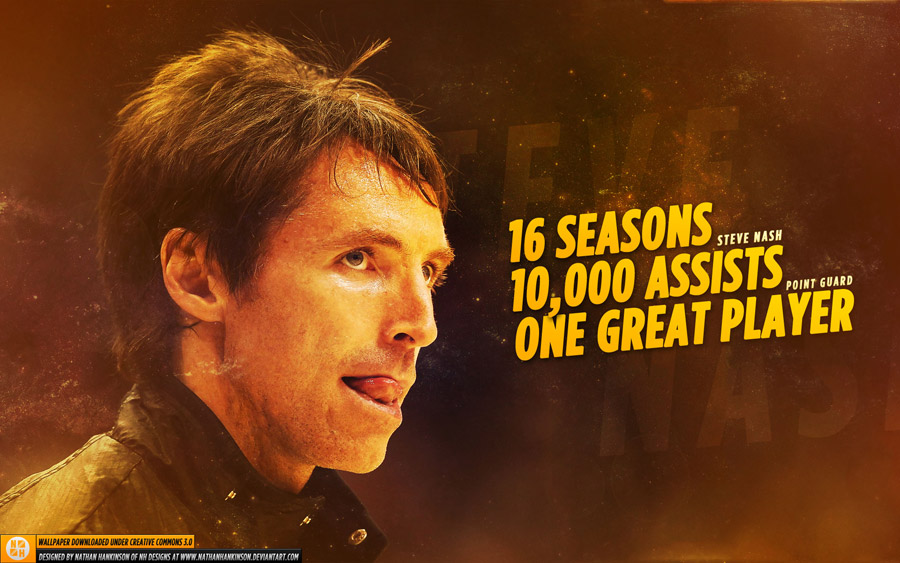 Steve Nash 10000 Assists 1920x1200 Wallpaper