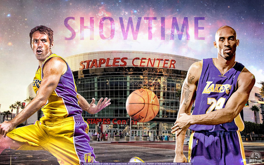 Steve Nash And Kobe Bryant LA Lakers Wallpaper