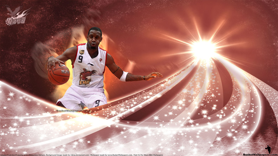 Tracy McGrady Qingdao Eagles 1920x1200 Wallpaper