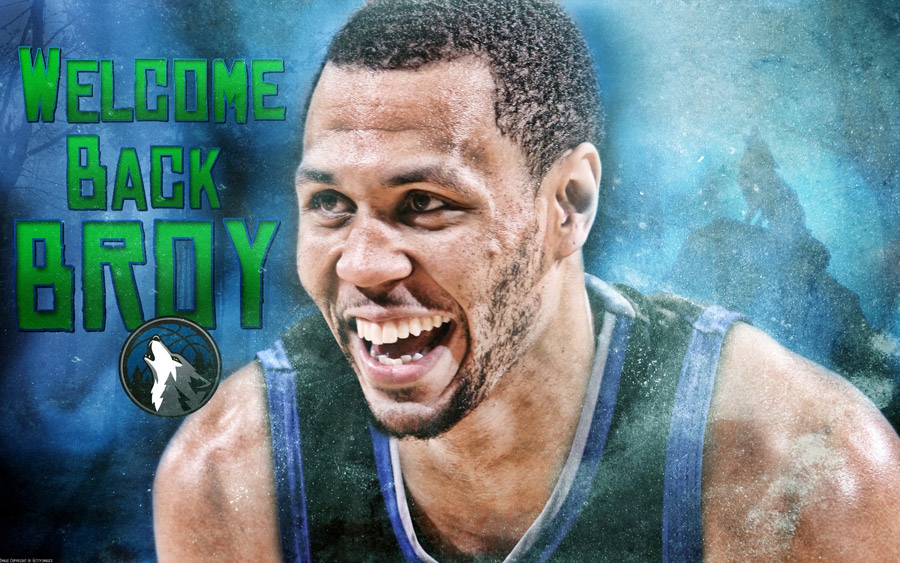 Welcome Back Brandon Roy 2012 Widescreen Wallpaper