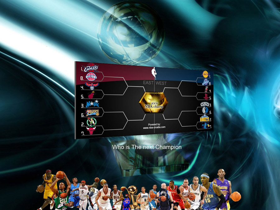 NBA Playoffs 2009 Wallpaper