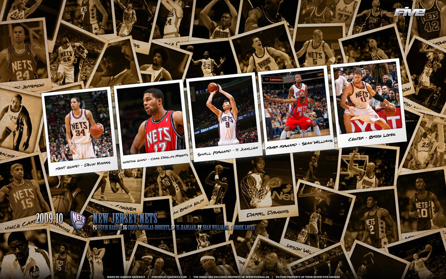 New Jersey Nets 2010 Widescreen Wallpaper