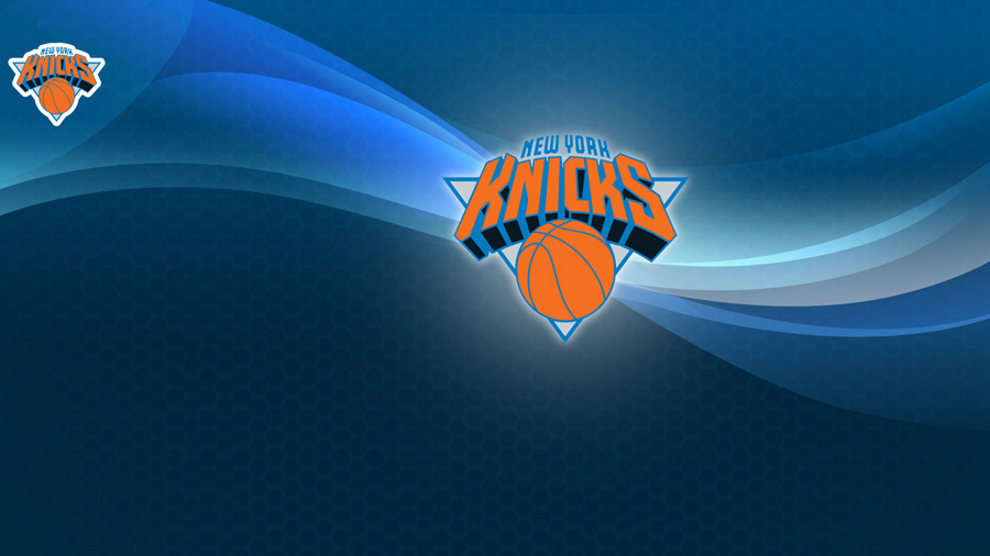 New York Knicks Abstract Bg Logo 1920x1080 Wallpaper