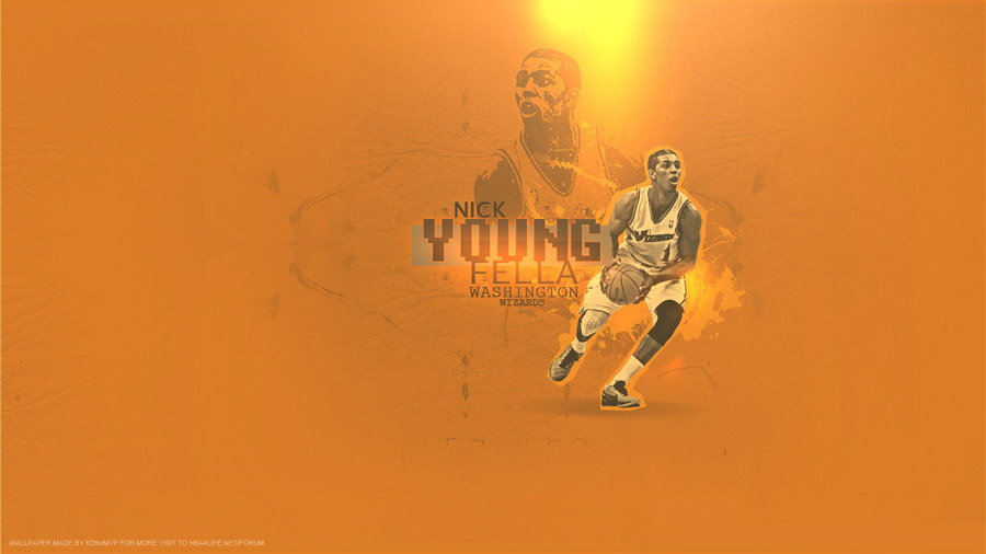 Nick Young Wizards 1600x900 Wallpaper