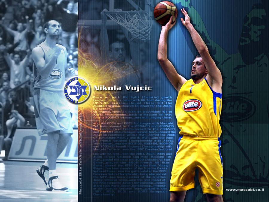 Nikola Vujcic Maccabi Tel Aviv Wallpaper
