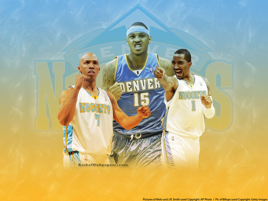 Nuggets Big 3 Wallpaper
