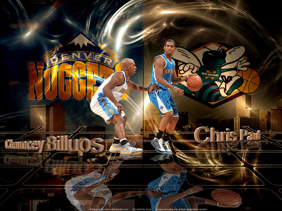 Nuggets vs Hornets 2009 Playoffs Wallpaper