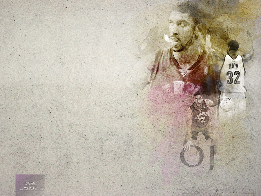 O.J. Mayo 1600x1200 Grizzlies Wallpaper